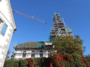 St. Peters Dach wird wieder heil